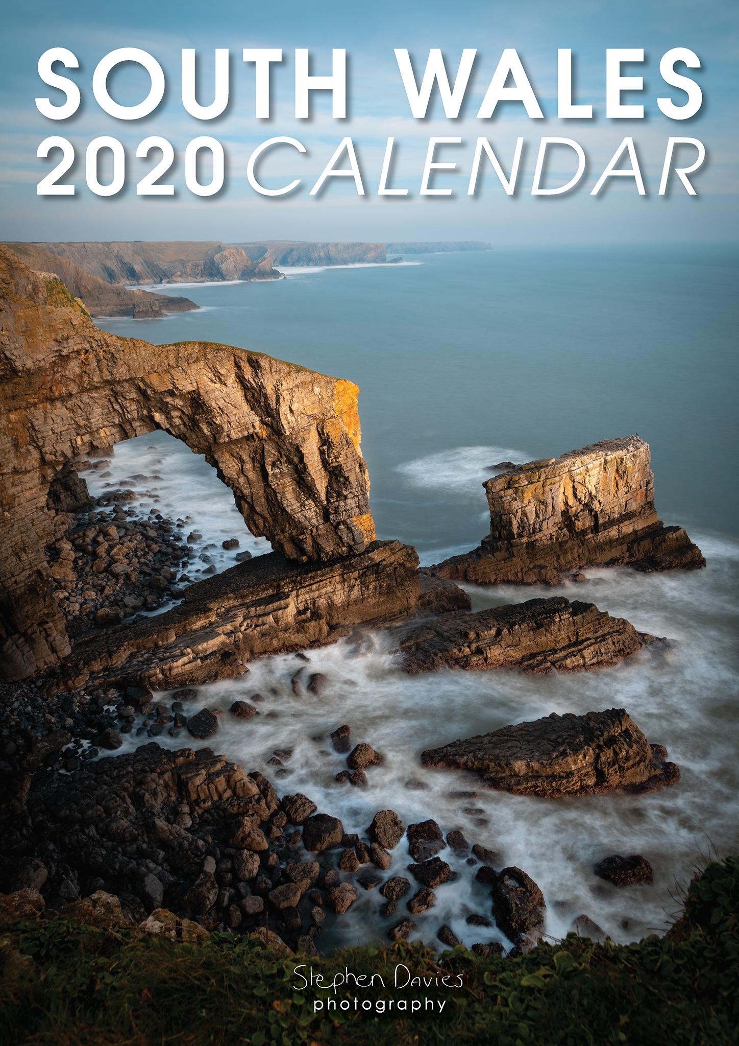 South Wales 2020 Calendar